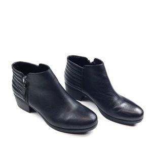 French Connection Black Trudy Ankle Boots